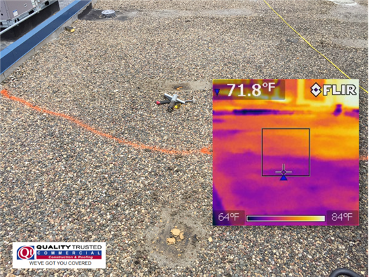 Infrared Moisture Scan – What Condition Is Your Commercial Roof Actually In?