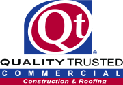 Quality Trusted Commercial Construction & Roofing Logo